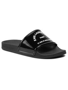 KARL LAGERFELD KARL LAGERFELD Mules / sandales de bain KL80909 Noir