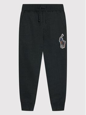 Polo Ralph Lauren Polo Ralph Lauren Teplákové nohavice Popant M2 322859612001 Čierna Regular Fit