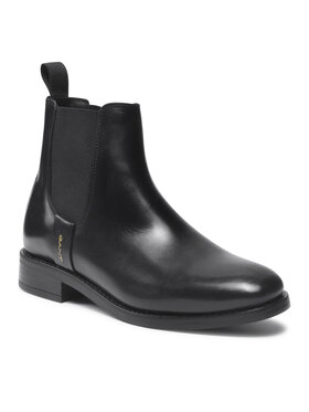Gant Gant Členková obuv s elastickým prvkom Fayy 23551112 Čierna