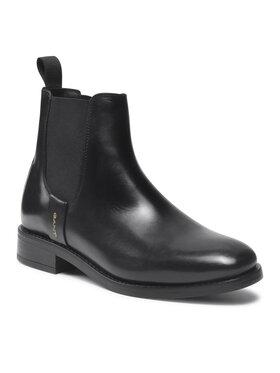 Gant Gant Kotníková obuv s elastickým prvkem Fayy 23551112 Černá
