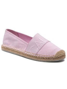 Calvin Klein Jeans Calvin Klein Jeans Espadrilky Espadrille Roped Toe Co YW0YW0151 Ružová