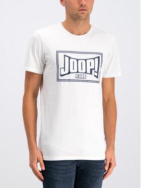 JOOP! Jeans Joop! Jeans T-Shirt 30017361 Bílá Regular Fit