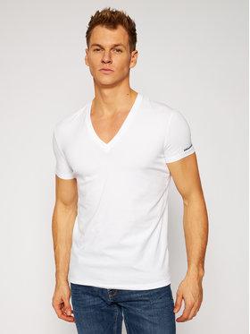 Dsquared2 Underwear Dsquared2 Underwear Тишърт D9M453180 Бял Regular Fit
