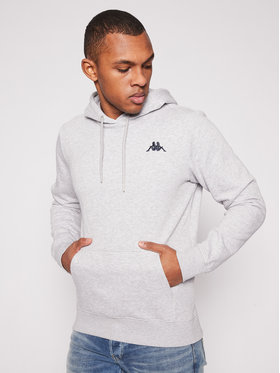 Kappa Kappa Sweatshirt Vend 707390 Grau Regular Fit