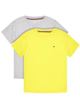 Tommy Hilfiger Tommy Hilfiger Komplet 2 t-shirtów UB0UB00331 Kolorowy Regular Fit