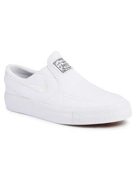 NIKE NIKE Pantofi Sb Janoski cnvs Slip (GS) 882988 103 Alb