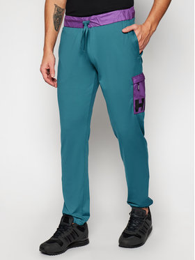 Helly Hansen Helly Hansen Teplákové kalhoty P&C 53332 Zelená Regular Fit