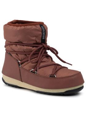 Moon Boot Moon Boot Śniegowce Low Nylon Wp 2 240093004 Brązowy