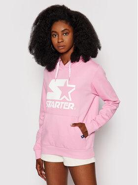 Starter Starter Bluza SDG-001-BD Różowy Regular Fit