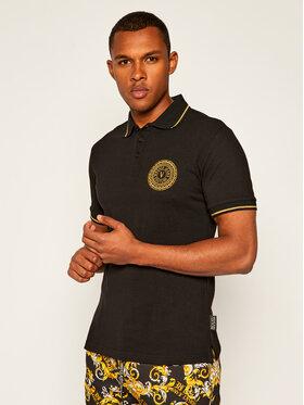 Versace Jeans Couture Versace Jeans Couture Тениска с яка и копчета B3GZA71T Черен Slim Fit