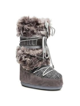 Moon Boot Moon Boot Bottes de neige Wool Fur 14026300002 Gris