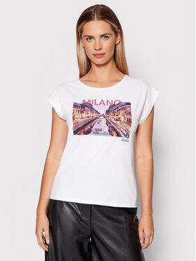 Liu Jo Liu Jo T-shirt WF1139 J0166 Blanc Regular Fit