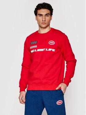 PROSTO. PROSTO. Bluză KLASYK Crewneck Drift 1011 Roșu Regular Fit