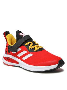 adidas adidas Boty Firta Run Mickey El C H68111 Červená