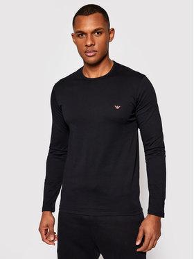 Emporio Armani Underwear Emporio Armani Underwear Тениска с дълъг ръкав 111653 1P722 00020 Черен Regular Fit