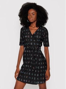 Desigual Desigual Sukienka codzienna Sole 21WWVK43 Czarny Regular Fit