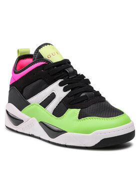 Guess Guess Sneakersy FL8DRI ELE12 Čierna