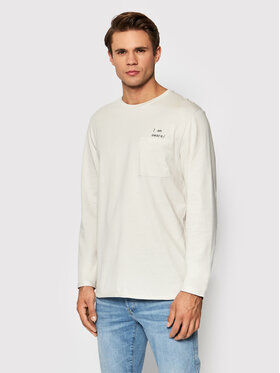 Outhorn Outhorn Longsleeve TSML604 Beżowy Regular Fit