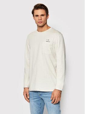 Outhorn Outhorn Тениска с дълъг ръкав TSML604 Бежов Regular Fit