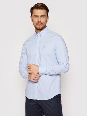 Gant Gant Chemise Broadcloth 3046402 Bleu Slim Fit