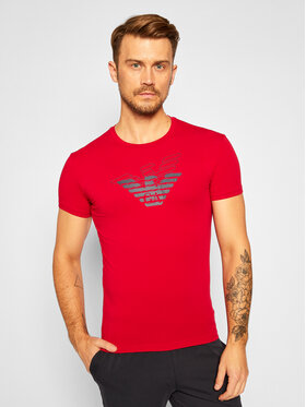 Emporio Armani Underwear Emporio Armani Underwear T-shirt 111035 0A725 12174 Rosso Slim Fit
