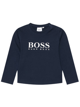 Boss Boss Palaidinė J05P10 S Tamsiai mėlyna Regular Fit