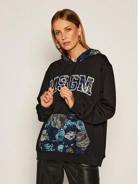 MSGM MSGM Sweatshirt 941MDM174 207799 Schwarz Regular Fit