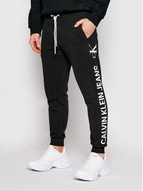 Calvin Klein Jeans Calvin Klein Jeans Teplákové nohavice Vertical Logo J30J318306 Čierna Regular Fit