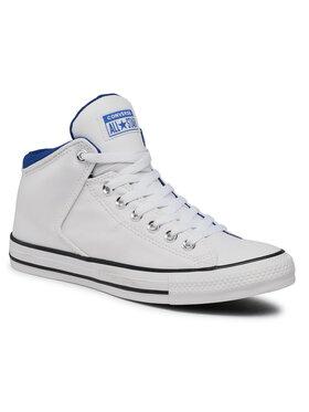 Converse Converse Кецове Ctas High Street H 164885C Бял