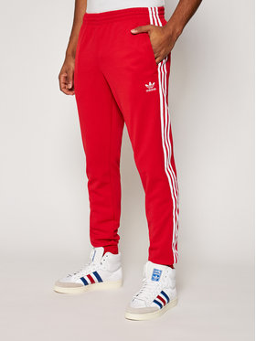 adidas adidas Pantaloni da tuta Sst Tp P GF0208 Rosso Slim Fit