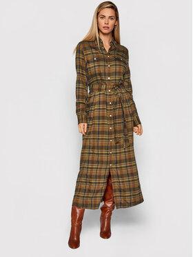 Polo Ralph Lauren Polo Ralph Lauren Hemdkleid 211800586004 Grün Regular Fit
