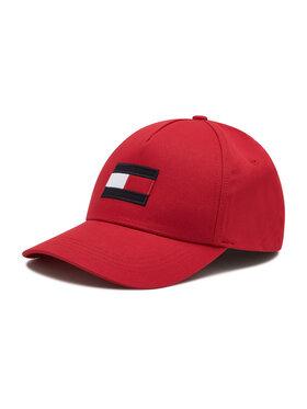 Tommy Hilfiger Tommy Hilfiger Kšiltovka Big Flag Cap AM0AM06943 Červená