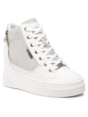 Guess Guess Sneakersy Riggz FL5RIG FAL12 Biały