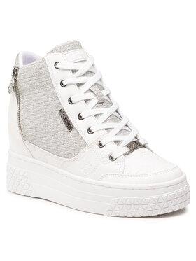 Guess Guess Sneakersy Riggz FL5RIG FAL12 Biela