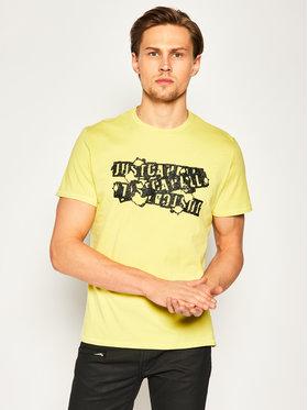 Just Cavalli Just Cavalli T-Shirt S03GC0584 Biały Regular Fit