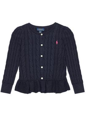 Polo Ralph Lauren Polo Ralph Lauren Πουλόβερ Peplum Cardi 313737911005 Σκούρο μπλε Regular Fit
