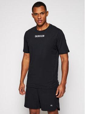 Calvin Klein Performance Calvin Klein Performance T-Shirt Pw 00GMS1K136 Czarny Regular Fit