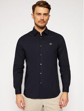 Lacoste Lacoste Koszula CH2668 Granatowy Slim Fit