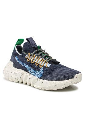 Nike Nike Buty Space Hippie 01 DJ3056 400 Granatowy