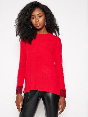 Calvin Klein Calvin Klein Megztinis Fluffy K20K202251 Raudona Regular Fit