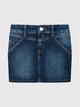 Calvin Klein Jeans Calvin Klein Jeans Φούστα Pencil IG0IG01035 Σκούρο μπλε Regular Fit
