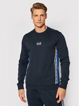 EA7 Emporio Armani EA7 Emporio Armani Sweatshirt 6KPM66 PJ05Z 1578 Dunkelblau Regular Fit