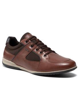 Geox Geox Sneakersy U Timothy B U026TB 04314 C0507 Hnedá