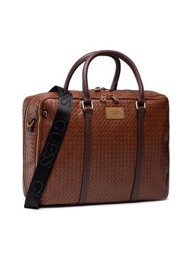 Guess Guess Τσάντα για laptop Evening (TRESSE') HMEVNT P1314 Καφέ