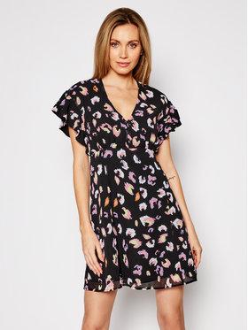 Guess Guess Ljetna haljina W1RK0B W70Q0 Crna Slim Fit