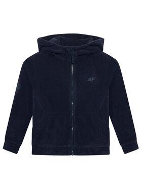 4F 4F Fliso džemperis HJL21-JPLM002 Tamsiai mėlyna Regular Fit