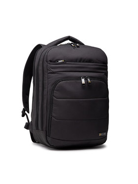 National Geographic National Geographic Σακίδιο Backpack 2 Compartments N00710.06 Μαύρο