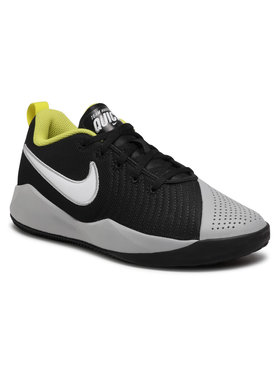 Nike Nike Обувки Team Hustle Quick 2 (Gs) AT5298 015 Черен