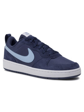 NIKE NIKE Buty Court Borough Low 2 Pe (Gs) CD6144 400 Granatowy