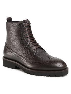 Boss Boss Kotníková obuv Edenlug 50439770 10216136 01 Hnědá